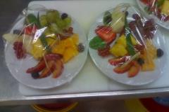 Obst mundgerecht zugeschnitten